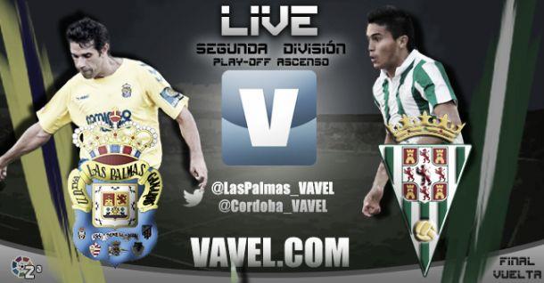 Final ascenso: Las Palmas vs Córdoba en vivo y en directo online