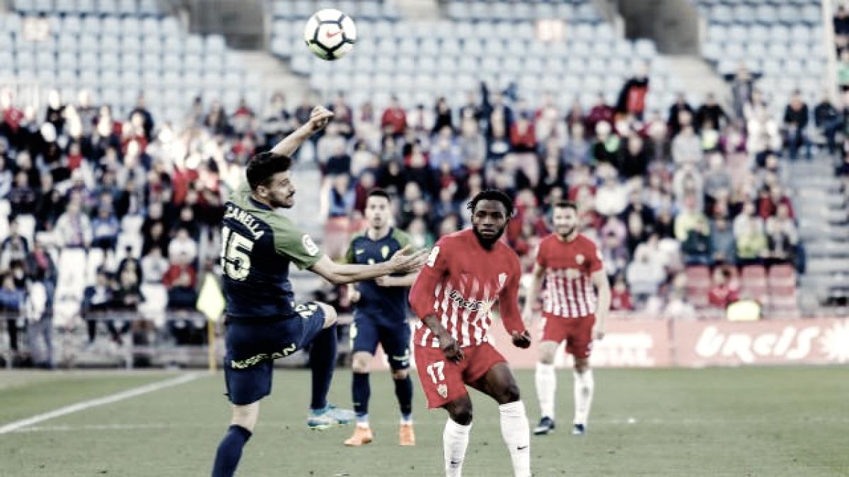 Almería 1-3Sporting de Gijón: puntuaciones del Almería de la jornada 33 de LaLiga 1|2|3