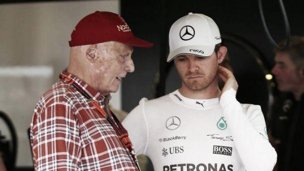 """Mercedes, Lauda: """"La Ferrari ci ha costretto ad accelerare lo sviluppo"""". E Rosberg scalpita..."""