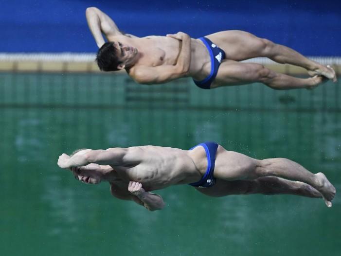 Rio 2016, Tuffi - Sincro 3m maschile: bene Tocci - Chiarabini, cade la Cina, oro Gran Bretagna