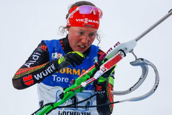 Biathlon - Hochfilzen 2017, mass start femminile: Koukalova - Dahlmeier, Italia da corsa