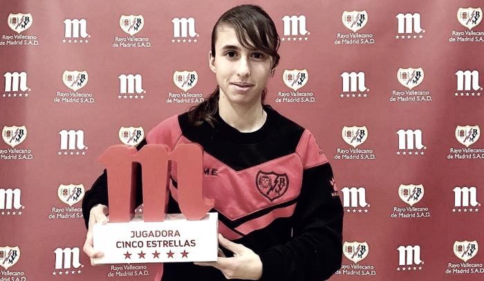 Laura Dominguez: ganadora del Trofeo 5 Estrellas de Mahou de la primera vuelta de la Liga Iberdrola