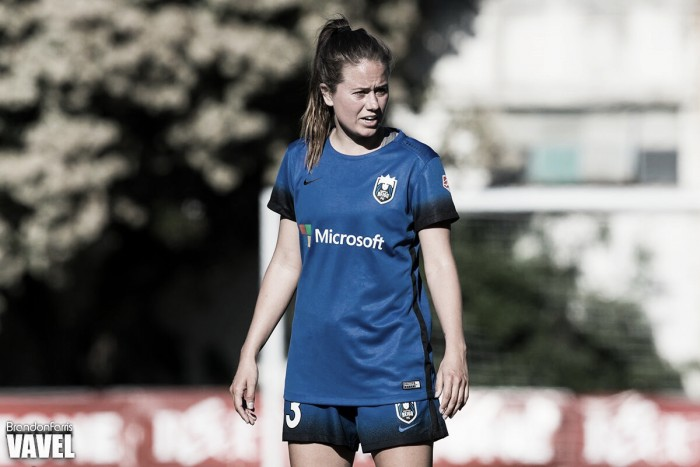 Seattle Reign's Lauren Barnes named Defender of the Year