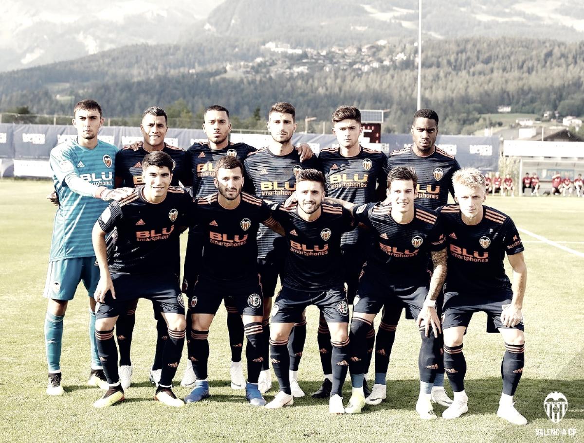 FC Lausanne Sport - Valencia CF: puntuaciones del Valencia, pretemporada