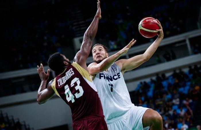 Rio 2016, Basket - Francia sul velluto contro il Venezuela (95-56)