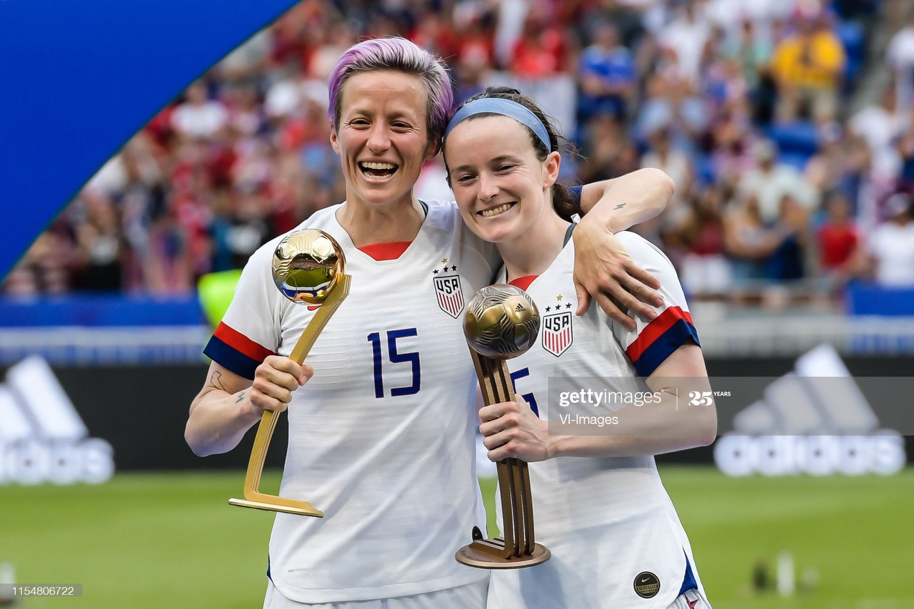 Manchester City sign World Cup winner Rose Lavelle