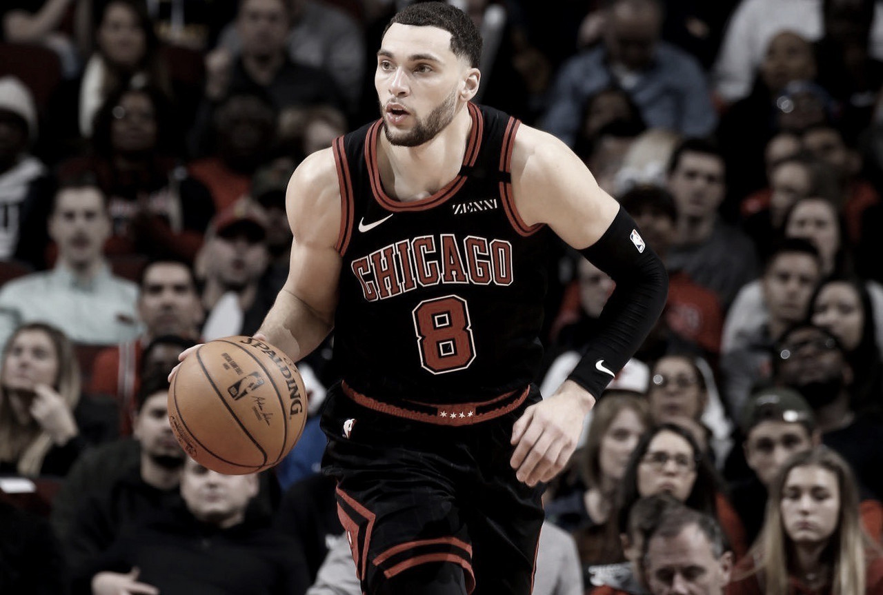 Zach LaVine making his case to be in the All Star Game