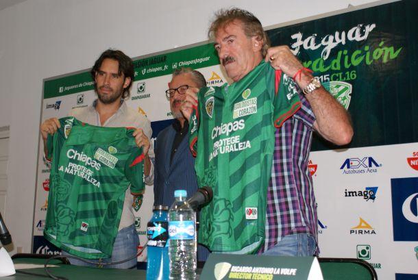 Fotos e imágenes de la presentación de Ricardo La Volpe con Chiapas FC