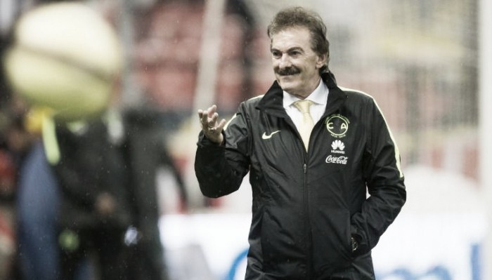 Ricardo Antonio Lavolpe tomó con serenidad el empate en Monterrey