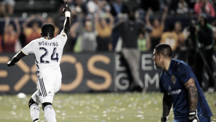 Los Angeles Galaxy's Emmanuel Boateng shines against Real Salt Lake