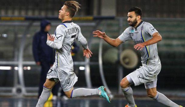 Corini esulta, il Chievo vince il derby allo scadere