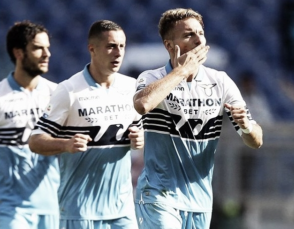 Lazio vence jogo equilibrado contra Fiorentina e entra na zona de Champions League