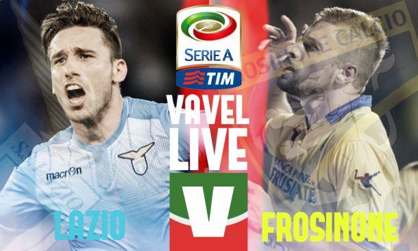Risultato LIVELazio - Frosinone Serie A 2015/2016 (2-0)
