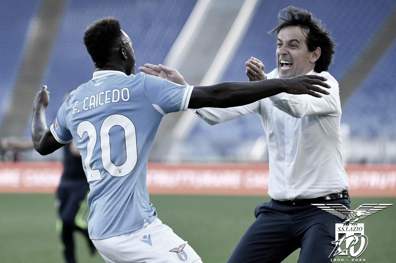 Caicedo brilha nos acréscimos e garante empate da Lazio contra Juventus