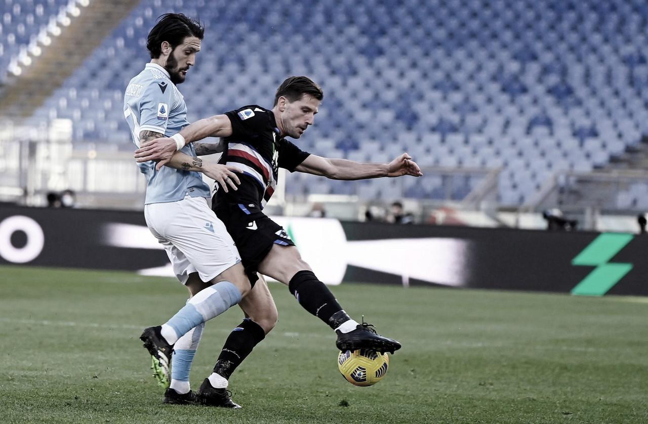 Em jogo tecnicamente fraco, Lazio vence Sampdoria pela Serie A