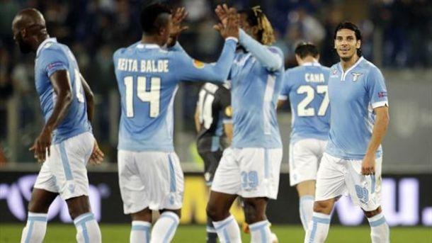 Risultato Lazio 2-0 Livorno in Serie A 2013