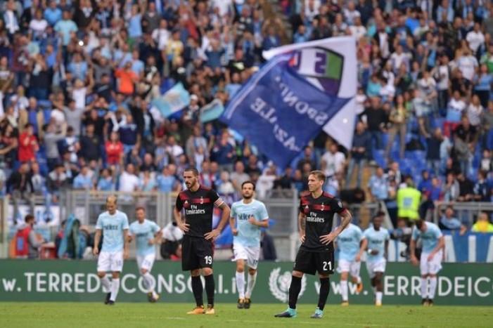 Lazio-Milan, i voti dei rossoneri: Donnarumma incolpevole, Bonucci malissimo, Suso fuori da tutto