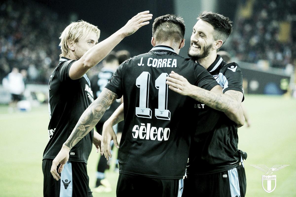 Correa se destaca, Lazio bate Udinese fora de casa e entra no G-4 da Serie A