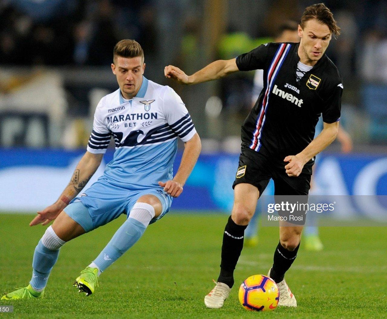 Match Preview: Lazio vs Sampdoria