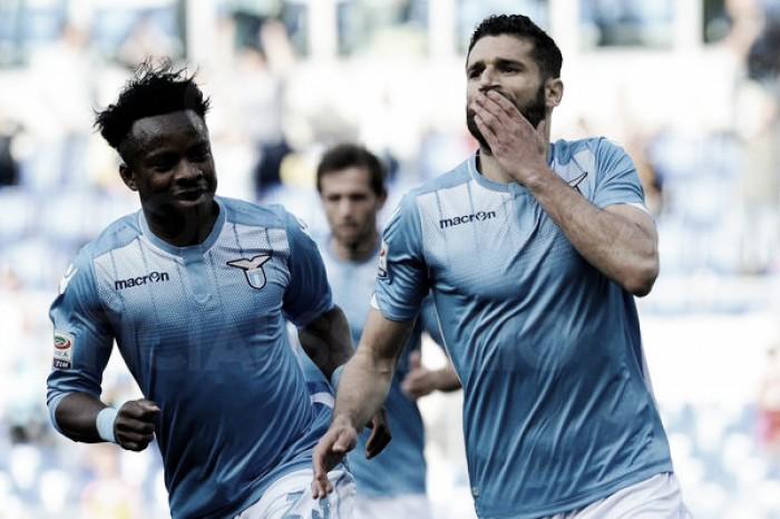 Due su due Inzaghi, la Lazio batte anche l'Empoli con Candreva e Onazi