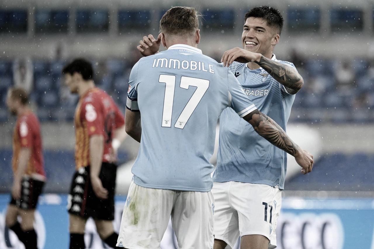 Em duelo dos irmãos Inzaghi, Lazio supera Benevento em jogo intenso e movimentado