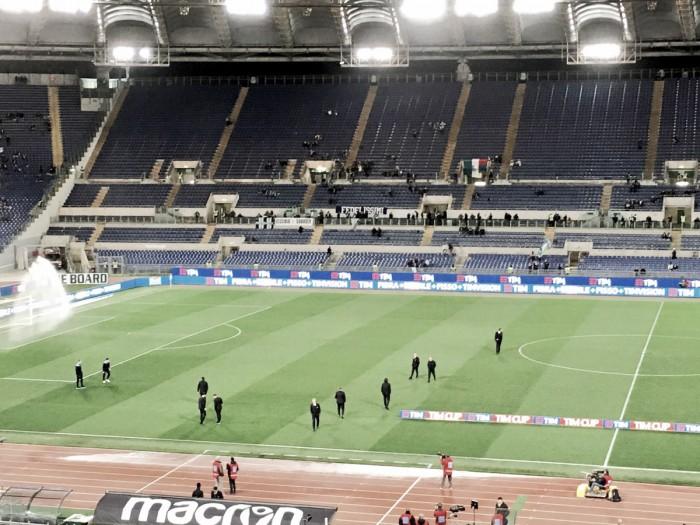 Si scalda l'Olimpico: Lazio-Roma, le formazioni ufficiali