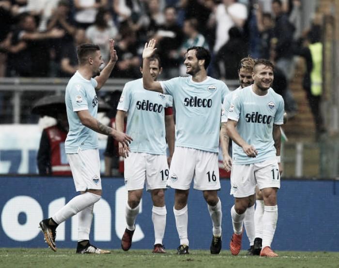 Com segunda etapa impecável, Lazio vira e goleia Sassuolo no Estádio Olímpico