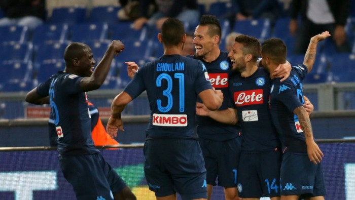 SERIE A, Poker del Napoli contro la Lazio