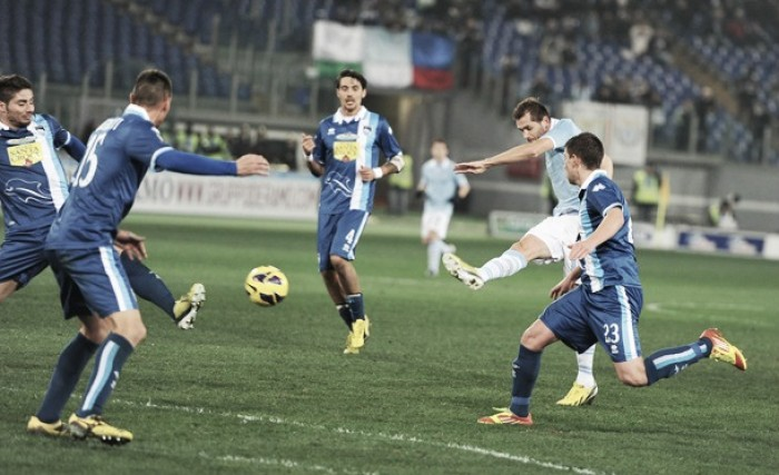 Partita Lazio vs Pescara in Serie A 2016/17 (3-0)