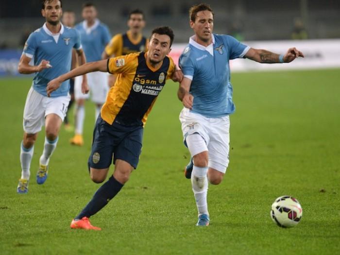 Lazio-Hellas Verona, Serie A 2015/2016 (5-2): Matri, Mauri, Anderson, Greco, Toni, Keita, Candreva