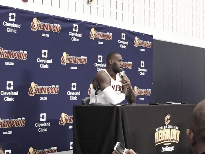 """Nba Media Day, LeBron James: """"Mi sono allenato tutta l'estate per vincere ancora"""""""