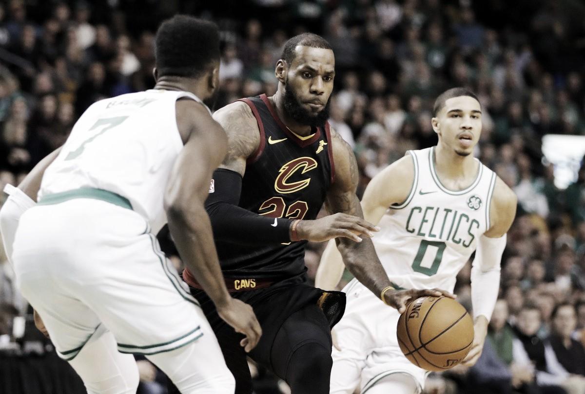 NBA playoffs, ancora i Celtics sulla strada di LeBron James