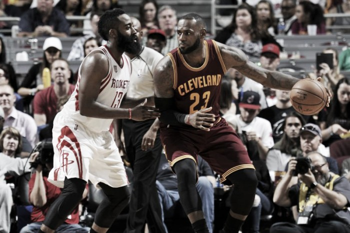 LeBron James and James Harden earn Player of the Month honors for November