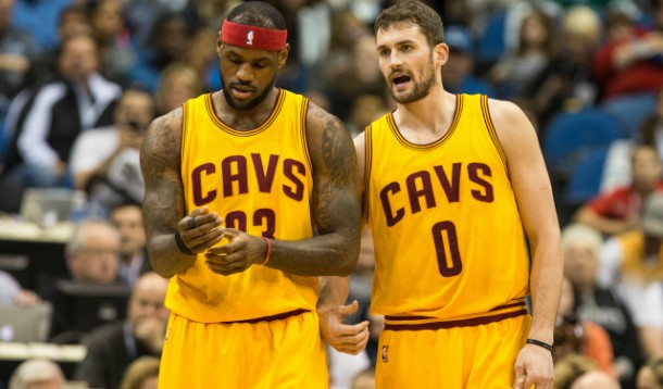 NBA, Cleveland Cavaliers: l'alchimia finalmente vincente della coppia LeBron James-Kevin Love