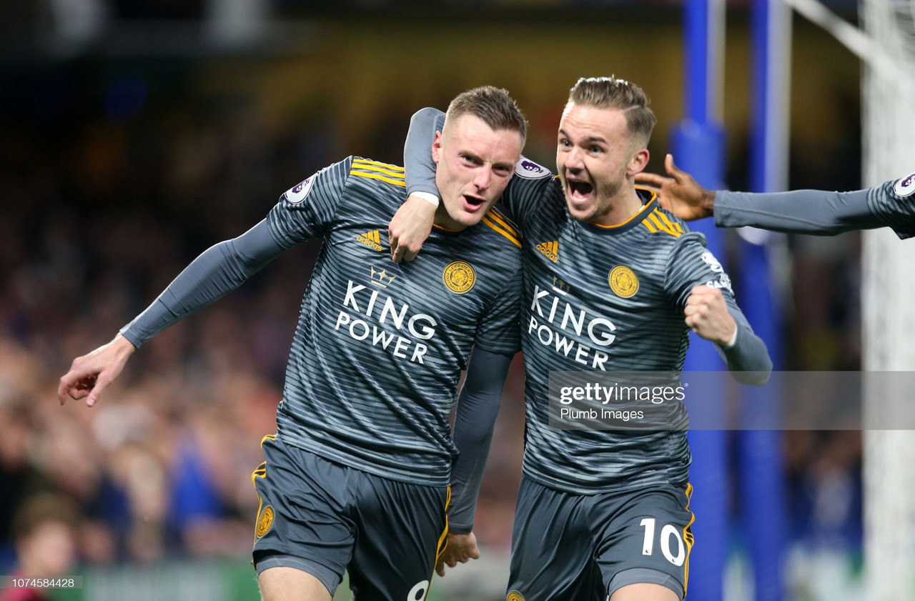 Memorable match: Chelsea 0-1 Leicester City - Jamie Vardy's second-half strike seals memorable Foxes away win