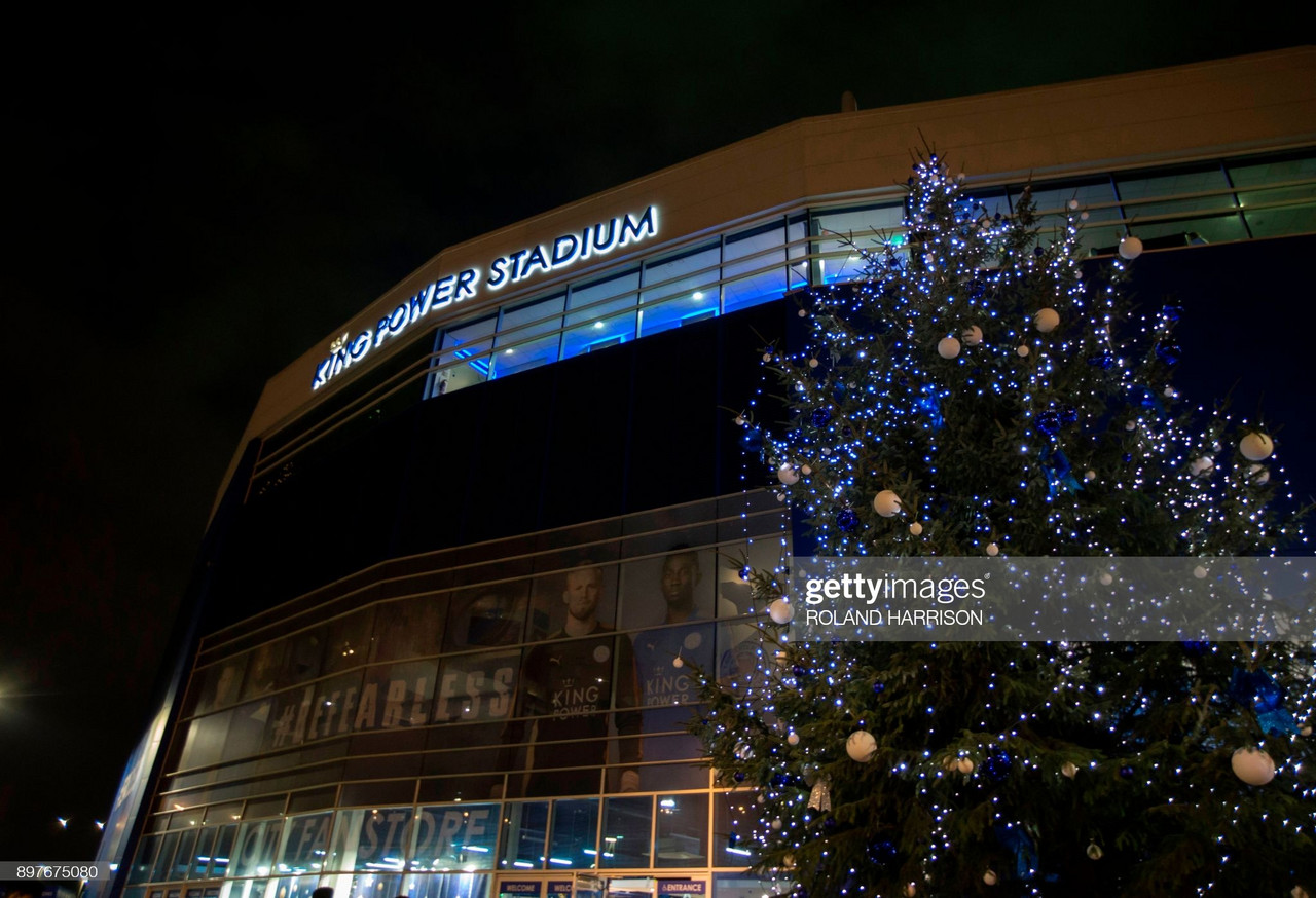 Festive football for Foxes: A look back at Leicester City's Christmas Past