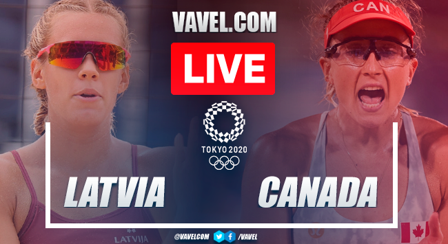 Highlights: Latvia 2-1 Canada in Women's Beach Volleyball Olympic Games 2020