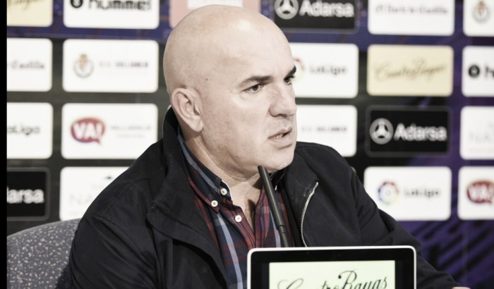 """Luis César Sampedro: """"Somos dos equipos distintos, pero que tenemos grandes virtudes"""""""
