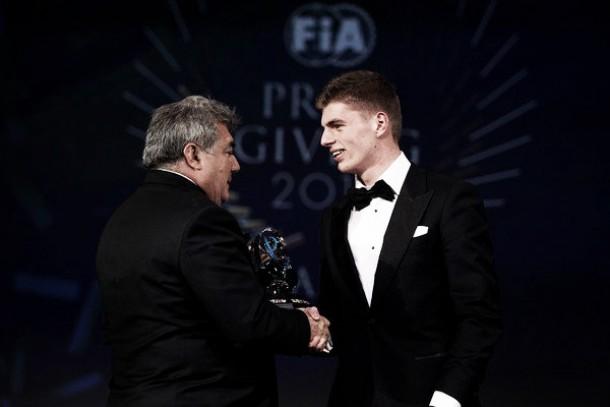 F1, tre premi FIA per l'esordiente Verstappen