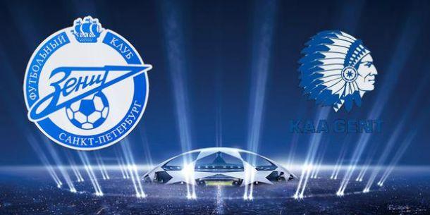 Revivez le LIVE de la Ligue des Champions -  Zenith Saint-Petersbourg - La Gantoise
