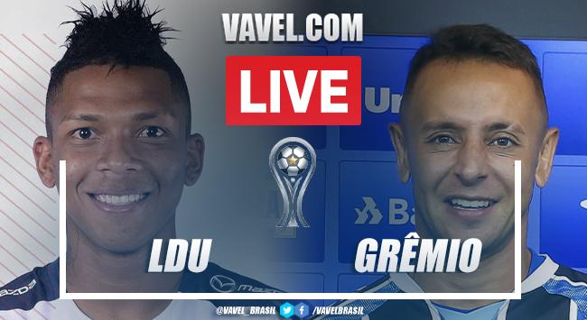 Gols e melhores momentos de LDU x Grêmio pela Copa Sul-Americana (0-1)