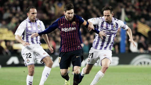 FC Barcelona - Real Valladolid: puntuaciones del Real Valladolid, jornada 24 de la Liga Snatander