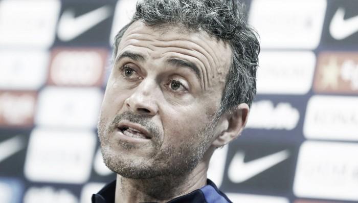"""Champions League, Luis Enrique: """"A Parigi senza fare calcoli. Unai Emery ci conosce benissimo"""""""