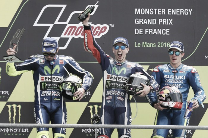 What the Le Mans MotoGP podium finishers had to say