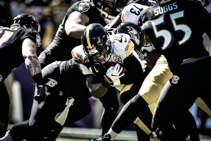 Victoria importante de los Steelers ante unos desaparecidos Ravens
