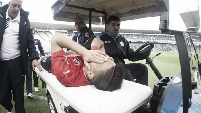 Nueva lesión de Leandro Fernández