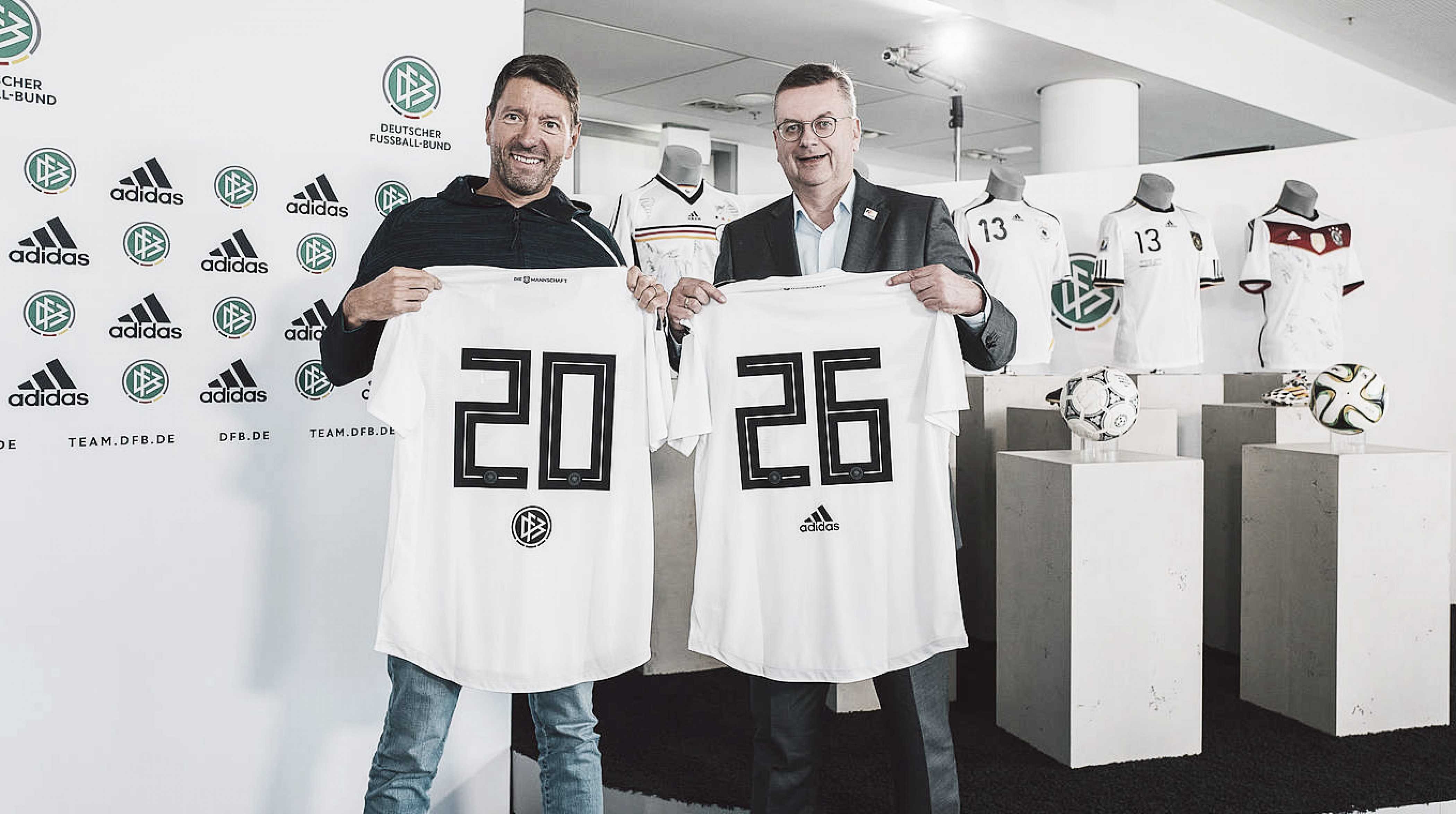Seleção Alemã renova contrato com fornecedora Adidas até 2026
