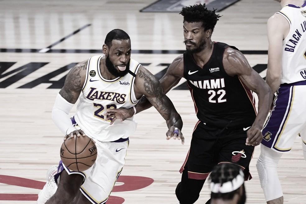"""LeBron James elogia Butler e Heat, mas segue confiando no Lakers: """"Sei que podemos jogar muito melhor"""""""