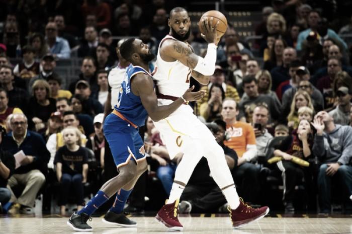 Com Hardaway e Porzingis inspirados, Knicks superam Cavaliers fora de casa
