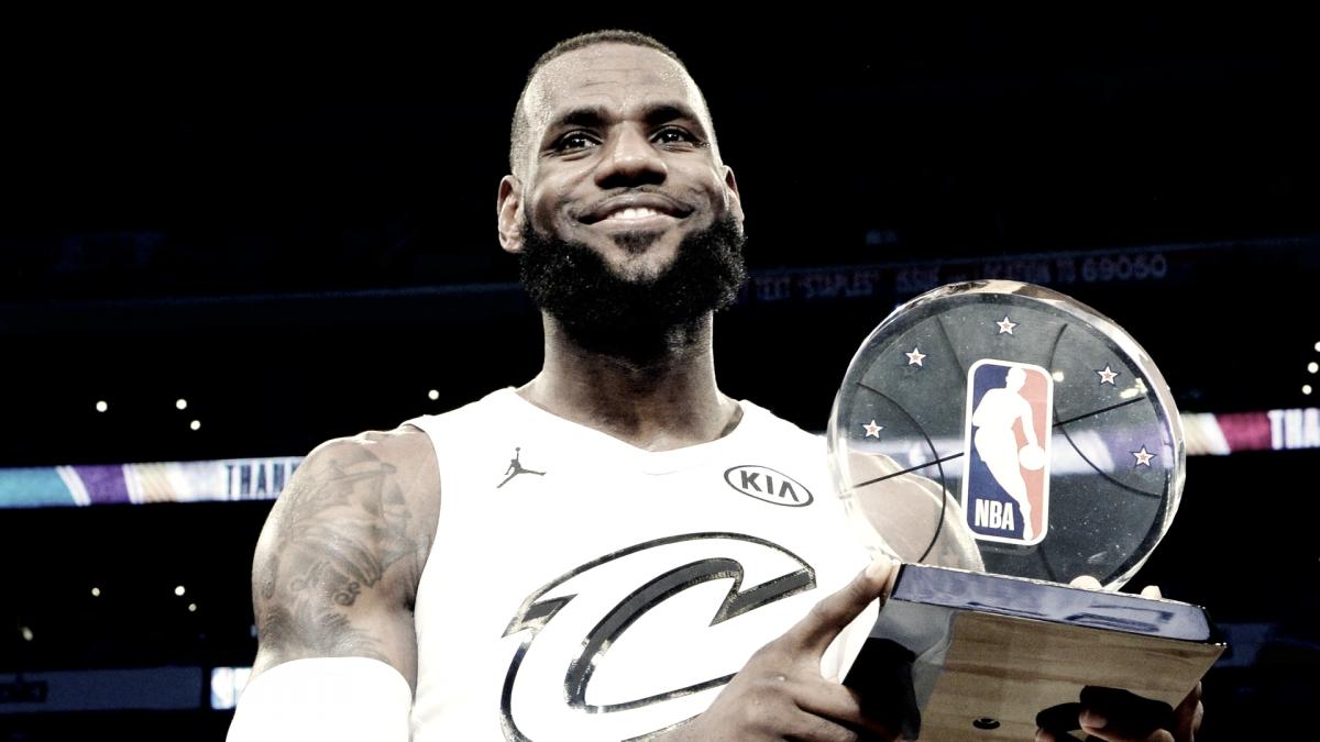 LeBron James, elegido MVP del All-Star Game 2018